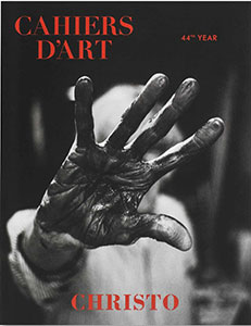 Cahiers d'art : Christo, 2020, 44. Jahr